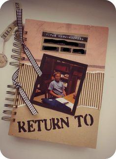 Make an envelope book