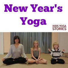 New Year's Kids Yoga Lesson Plan