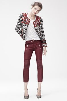 Pantalones de cuero - #colección de #isabelmarant para H&M http://www.charadaimagenpersonal.es/blog/item/descubre-la-coleccion-de-isabel-marant-para-h-m.html#.Um5HIxDgGSo