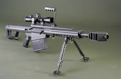 The Barret 82A3 Is One Of The Most Popular .50 Cal Sniper Rifles... Is A Soon Present For Him <3 !!!!