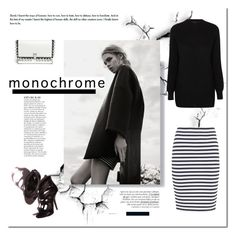 """Mono."" by tatajrj ❤ liked on Polyvore featuring A.L.C., Anja, Proenza Schouler and monochrome"