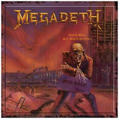 Megadeth: Peace Sells... But Who's Buying (25th Anniversary Edition): one of the greatest metal albums ever. The title track still blows my mind. But the second disc on the anniversary edition is a crappily recorded concert. #megadeth