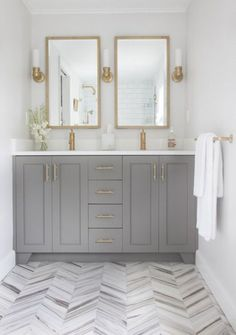 design-trends-warm-metals-gold-grey-bathroom