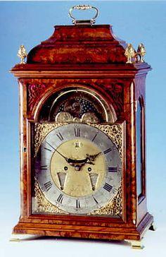 Dutch table clock