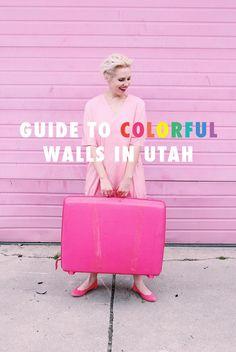Guide to Colorful Walls in Utah