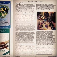 my article, 'The Politics of Fermentation' about cultivating wild micro-organisms, revolution & 'culture' is published in this month's New England Organic Farming Association newsletter! good bed-timing reading. Learn more at www.claycrocks.com Fermentation Crock, Microorganisms, Organic Farming, Cool Beds, New England, Revolution, Politics, Culture, Learning