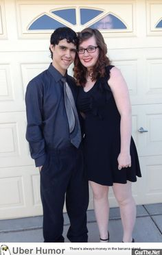 Creepy. It is still best prom photo idea ever.