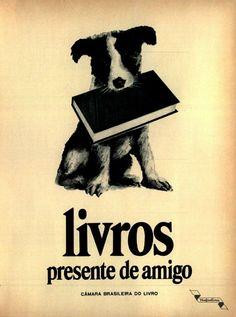 Livros, #Brasil  #anos60  #retro