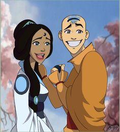 Avatar the Last Airbender - Avatar Aang x Katara
