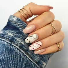 ✧・゚. theangrydinosaur ✧* Coffin Nails, Gel Nails, Manicure Y Pedicure, Nail Nail, Hair And Nails, Nail Art Designs, Marble Nail Designs, Nail Designs Tumblr, Nail Marbling