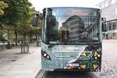 Nuart street art Gatekunstbuss Add Fuel 4 bus Stavanger, First Art, Street Artists, First World, Product Launch, City, Projects, Log Projects, Blue Prints