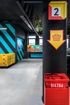The new market 'Solera' in Cologne, Germany was designed to respond to the growing interest in Spanish food products and gastronomy. Conceived by Pepa Bascón and designed by studio Masquespacio, the colourful 'cash&carry' spans over 500 m2 and features elements reminiscent of Spanish culture. Ornament grids refer to the region of Andalucía, while Mediterranean tiles …
