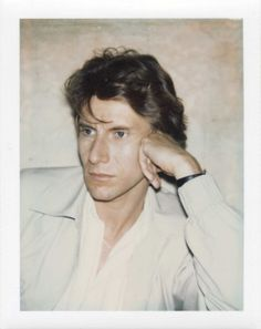 Lo Stile (Yves Saint Laurent polaroid by Andy Warhol, 1971)