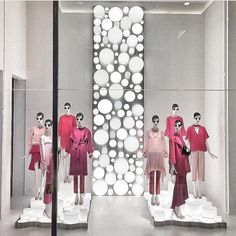 """ZARA, (Spring/Summer), """"Will it go round in circles, will it fly high like a bird up in the sky"""", (Lyrics: Billy Presto), photo by The Displayer, mannequins by Bonaveri Italy, pinned by Ton van der Veer"""
