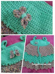 My Crochet - baby dress