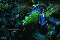 Hermés Men's Spring/Summer 2014 campaign featuring Sean O'Pry. Photographed by Hans Silvester. - Me in a dress? And then this decor? Would make an awesome photoshoot *sigh* Sean O'pry, Fashion Shoot, Editorial Fashion, Men's Fashion, Green Fashion, Christophe Lemaire, Summer Campaign, Spring Summer, Spring 2014