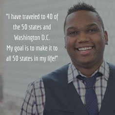 Meet Demetrius! He's one of our Executive Recruiters! Interested in a career opportunity with us? Email him at DemetriusWallace@quickenloans.com