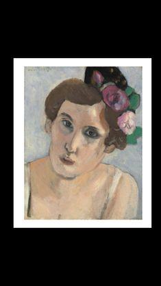 Henri Matisse - Tête de femme, 1919 - Oil on canvasboard - 34,9 x 27 cm