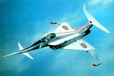 Angel Interceptor from Captain Scarlet and the Mysterons (1967).