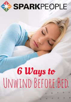 Having a hard time getting settled before bed? Try these 6 tips for unwinding before you hit the hay so you can wake up healthy and refreshed with a good amount of sleep behind you.