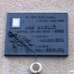 Uctí památku svého rodáka Jana Kudliče