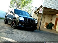 '09 Grand Cherokee with Brembo brakes!