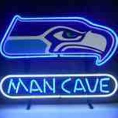 Seahawks MAN CAVE Custom made by Garyfactory from Gary's Sports Closet Official Online Store- NFL-NBA-MLB-NHL-NCAA for $275.00