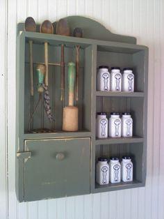 Lovely little kitchen cabinet...