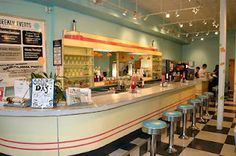 50's and 60's diner theme