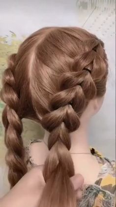 Easy Hairstyles For Long Hair, Braids For Long Hair, Cute Hairstyles, Halloween Hairstyles, Box Braids, Beautiful Hairstyles, Braided Hairstyles Tutorials, Protective Hairstyles, Toddler Hairstyles