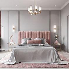 Extraordinary Bedroom Design Ideas For Comfortable Home Decor « Home Design Modern Luxury Bedroom, Luxury Bedroom Design, Bedroom Bed Design, Room Ideas Bedroom, Home Room Design, Contemporary Bedroom, Luxurious Bedrooms, Home Decor Bedroom, Classic Bedroom Decor
