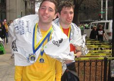 Why worry about speaking when your running can do the talking for you? Identical twins Alex and Jamie Schneider, 27, have a severe form of autism that requ...