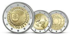 2 euro Predsedníctvo SR v Rade EÚ len za € Euro, Lens, Personalized Items, Lentils