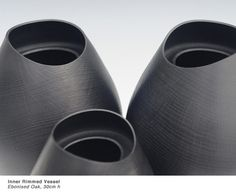 Modern wood vessels by Liam Flynn
