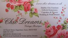 Chic Dreams www.chic-dreams.co.uk