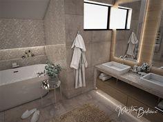 Návrh rodinného domu Rodinný dom s wellness, pohľad na okno hlavnej kúpeľne Bathtub, Standing Bath, Bath Tub, Bathtubs, Tub