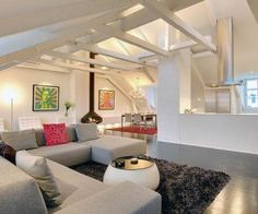 Magnificent modern loft with lavish interiors