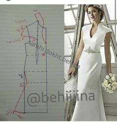 Couture Sewing Vestido Formal Clothing Patterns Dress Patterns Sewing Patterns Techniques Couture Sewing Techniques Make Your Own Dress Panel Dress Sewing Dress, Dress Sewing Patterns, Blouse Patterns, Sewing Clothes, Clothing Patterns, Diy Clothes, Wedding Dress Patterns, Bodice Pattern, Collar Pattern
