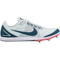 new concept e30b6 166cc Nike Women s Zoom Rival D 10 Track and Field Shoes, Gray Track And Field  Shoes