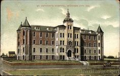 The original St Anthony's hospital