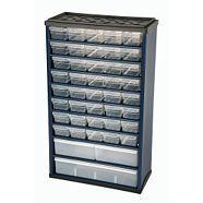 Mastercraft 43 Drawer Metal Cabinet Metal Cabinet Organizing Bins Mastercraft