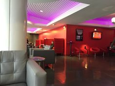 Pin for Later: Virgin America Manages to Make Flying Suck Less — and That's Saying Something The Lounge Experience