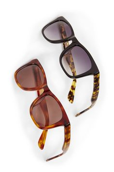6ae6ce25ca8 Classic wayfarer sunglasses with acetate frames and printed sides. Stylish  Sunglasses