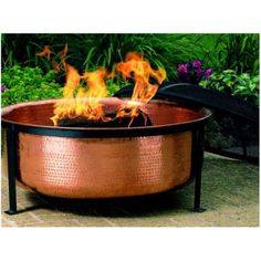 $283.89, Hammered Copper Fire Bowl from Target, love!