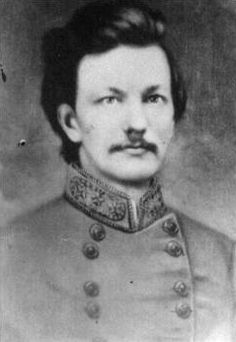 Clement Anselm Evans (February 1833 – July was a Confederate infantry general in the American Civil War. He was also a noted politician, preacher, historian and prolific author. Evans was born in Stewart County, Georgia. Confederate States Of America, Confederate Flag, American Civil War, American History, Army Infantry, My Family History, Civil War Photos, American Revolution, Historian