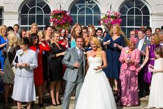 Gosfield Hall group photograph in the sunshine