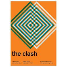 The Clash, 1981 17x23.75  by Swissted by Stereotype