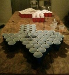 texas style beer pong.. ALRIGHT!!  Here you go @Brandi Price