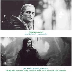 "16 Insightful Gems On ""Lord Of The Rings"" From The Cast.  Click through and read them all...oh, goodness!"