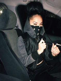 pinterest: @ nandeezy † Gangsta Girl, Bad And Boujee, Coco Chanel, Urban Swag, Girl Outfits, Cute Outfits, Black Girl Swag, Light Skin Girls, Ski Girl